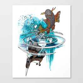 TAIJI Canvas Print