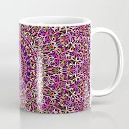 Colorful Girly Lace Garden Mandala Coffee Mug