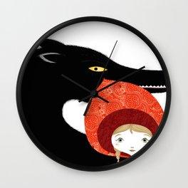 Little Redridinghood Wall Clock