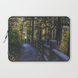 Glowing Yellow Laptop Sleeve