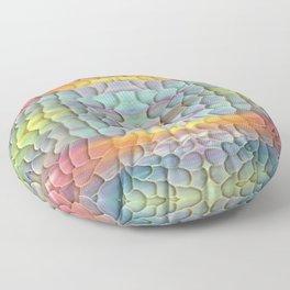 unicorn landscape Floor Pillow