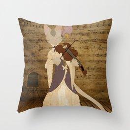 Burmilla Throw Pillow