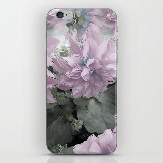 Pastel Dahlia's iPhone & iPod Skin