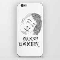 danny ivan iPhone & iPod Skins featuring Danny by alexdavey