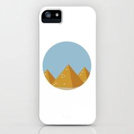 piramidi iPhone Case