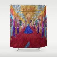 cinderella Shower Curtains featuring Cinderella  by Jgarciat