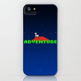 8-Bit Adventure On Mars iPhone Case