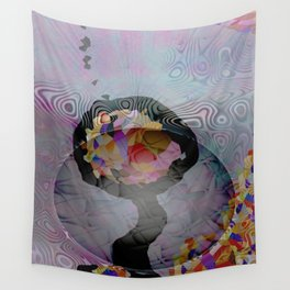 Space Flower Wall Tapestry