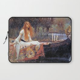 THE LADY OF SHALLOT - WATERHOUSE Laptop Sleeve