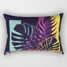 Neon Tropical #society6 #tropical Rectangular Pillow