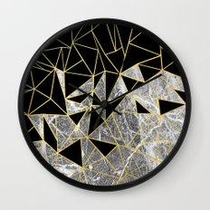 Marble Ab Wall Clock