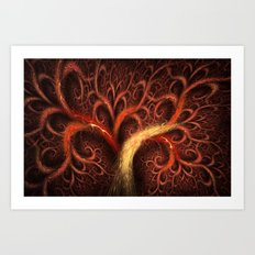 Fractal Design Tree of Life Art Print