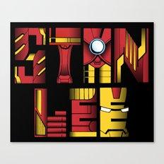Stan Lee (Iron Man) Canvas Print