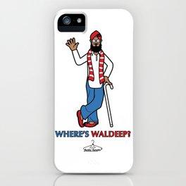 Where's Waldeep? iPhone Case