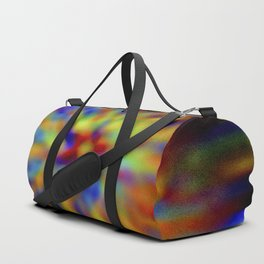 Frosted vitrum post tergum color ratesque Duffle Bag