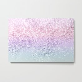 Unicorn Girls Glitter #1 (2019 Version) #shiny #pastel #decor #art #society6 Metal Print