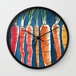Nature Rainbow Wall Clock