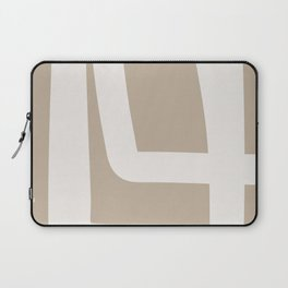 Neutral Abstract 5A Laptop Sleeve