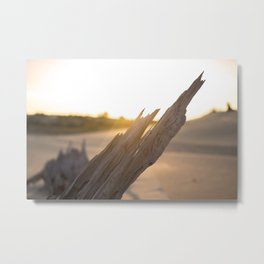 SAND DUNE CREATIONS IN COLOR Metal Print