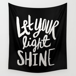 Let Your Light Shine II Wall Tapestry