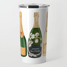 Champagne Bottles Travel Mug
