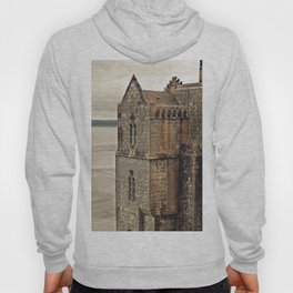 Mont St. Michel - Square Tower - Brittany France Hoody
