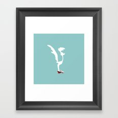 road runner Framed Art Print