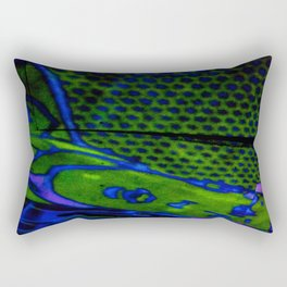 tile style Rectangular Pillow