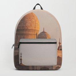 Taj Mahal At Sunset Backpack