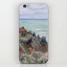 Claude Monet Cabin of the Customs Watch iPhone Skin