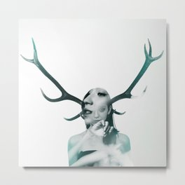 DOUBLE EXPOSURE POJECT // CLEMENTINA Metal Print