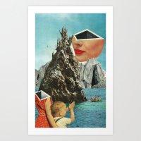 Clap and Pucker Art Print