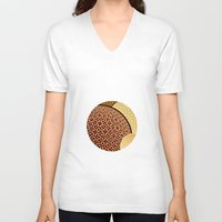 planets V-neck T-shirts featuring - planets - by Digital Fresto