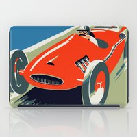grand theft auto iPad Cases featuring Retro style auto Grand Prix Rivièra by aapshop