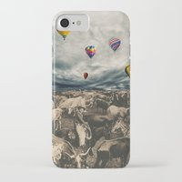 balloons iPhone & iPod Cases featuring Balloons by Mrs Araneae