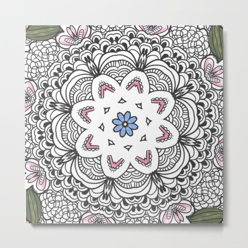 Pretty Pretty Flower Metal Print by Fashion4you MTP7954757