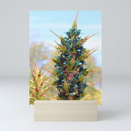 Blue Sapphire Tower of Beauty by Reay of Light Photography Mini Art Print