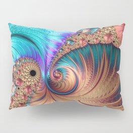 Curling Infinity Pillow Sham