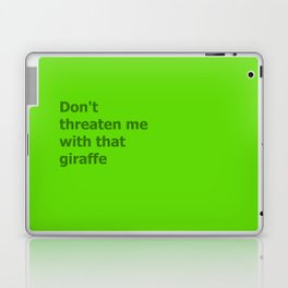 Green Butcher's Quote  Laptop & iPad Skin