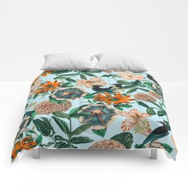 Forest Birds #nature #tropical Comforters