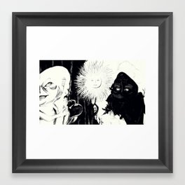 Sink in the Forest Framed Art Print