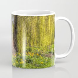 Daffodils and Willow Tree Coffee Mug