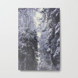 Freezing rastafaris Metal Print