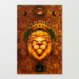 Lion's Roar Canvas Print