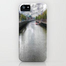 River Liffey iPhone Case