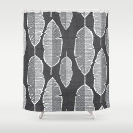 Molokai Collection Banana Leaves Shower Curtain