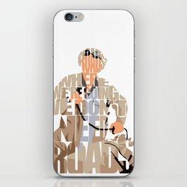 Doc Brown iPhone Skin