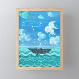 Adrift Framed Mini Art Print