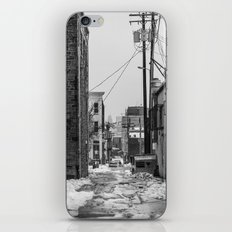 Alley Winter iPhone & iPod Skin