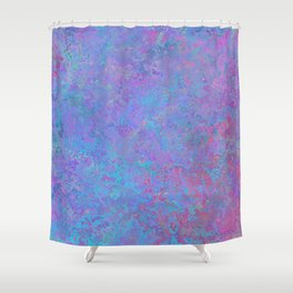 Purple and blue abstract background Shower Curtain